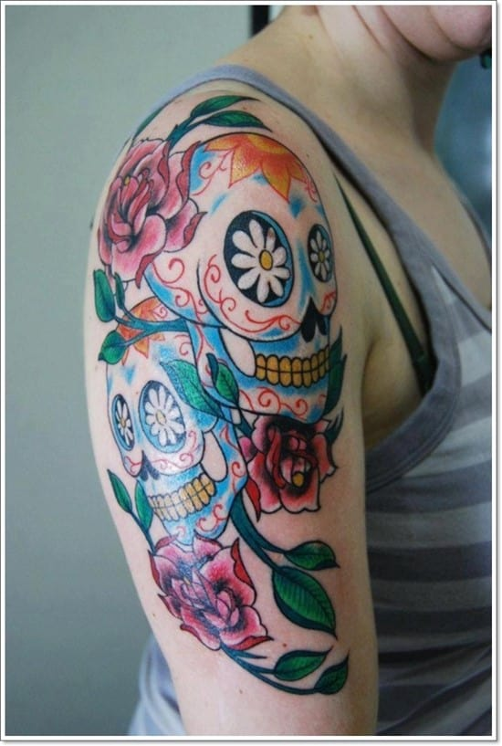 day-of-dead-tattoo