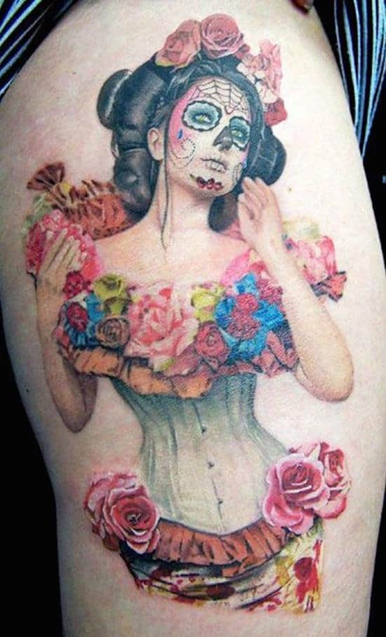 day-of-the-dead-tattoos-44
