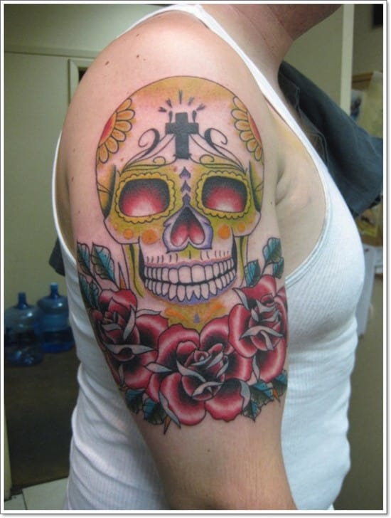 day_of_the_dead_skull_and_rose_tattoo_by_tatshuka-d510a27