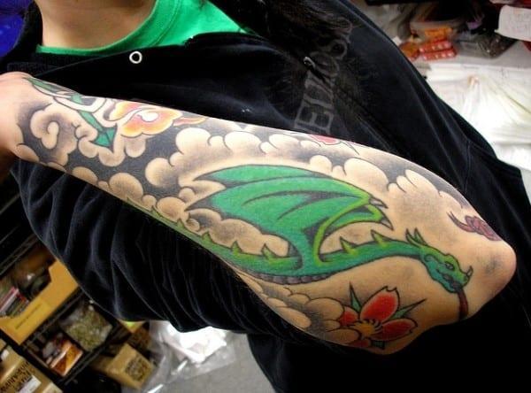 dragon-in-clouds-tattoo