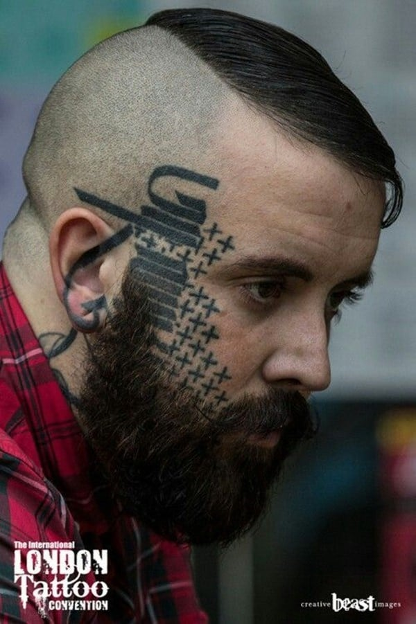 100 Stunning Face Tattoos For Men Women April 2018