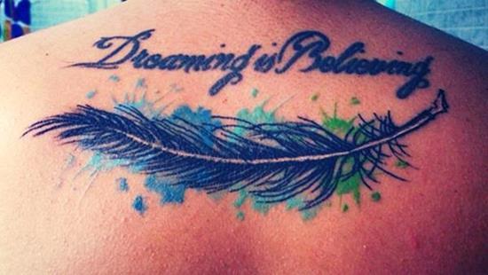 feather tattoos designs ideas men women cute beautiful (14)