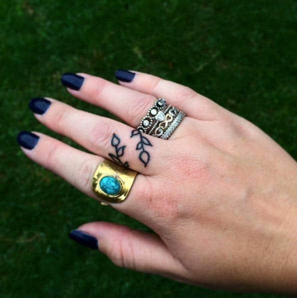 151 Best Finger Tattoo...