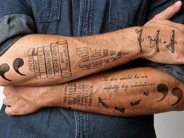 Drawing Lines On Your Wrist : Best forearm tattoos ideas april