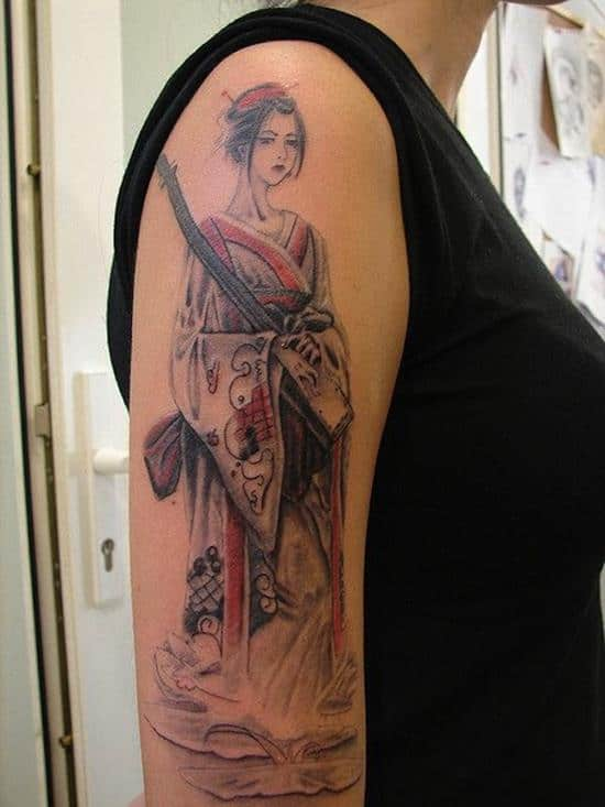 geisha-tattoo-arm