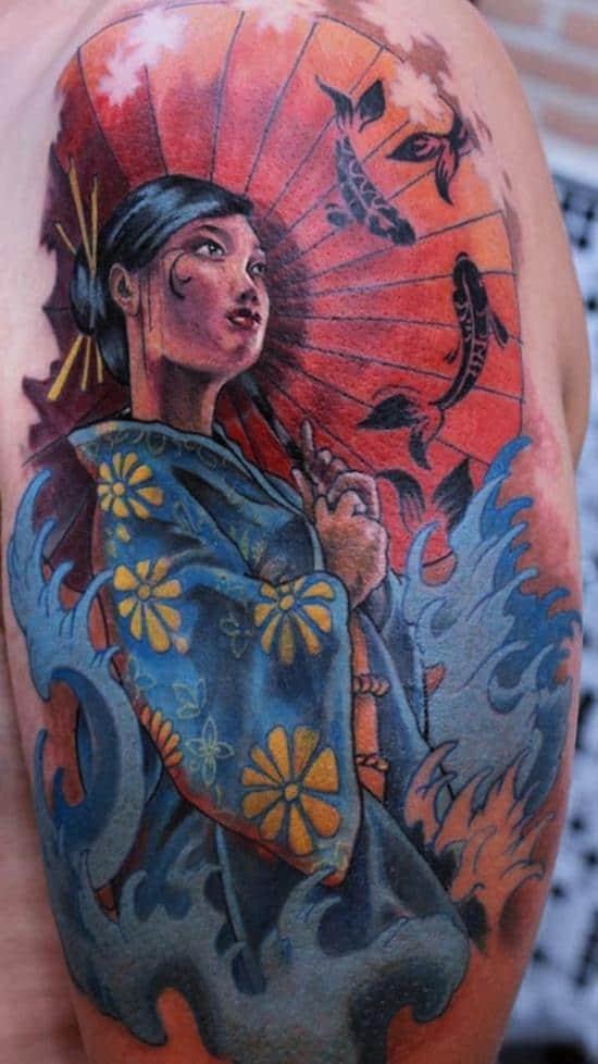 geisha-tattoo-koi
