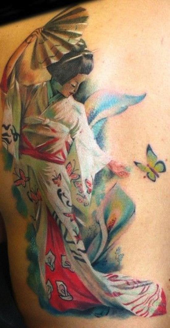 geisha-tattoos-butterflies