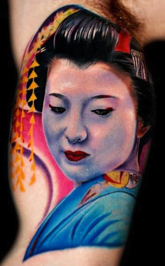 geisha-tattoos-face