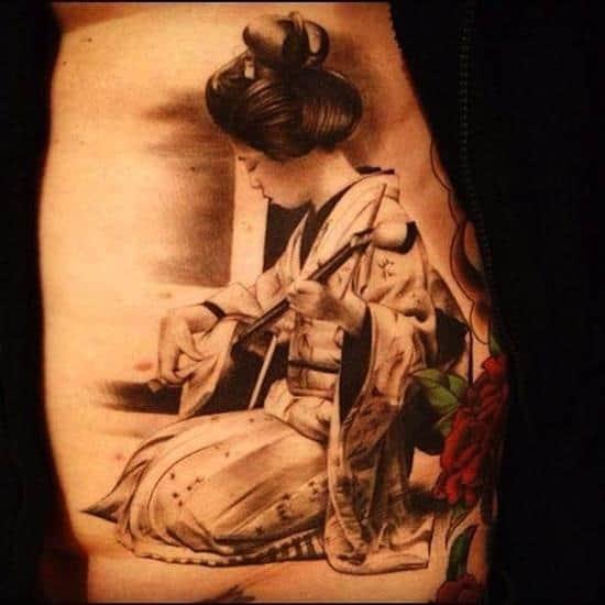 geisha-tattoos-music