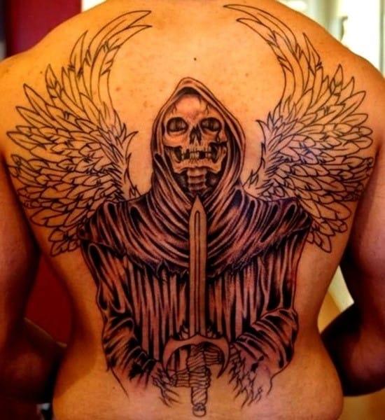 Grim Reaper Back Tattoo: 100 Meaningful Grim Reaper Tattoos (Ultimate Guide 2020