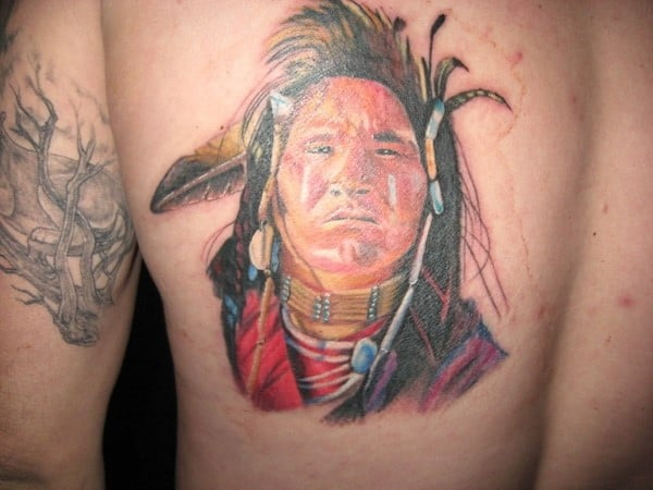 indian-warrior-tattoo