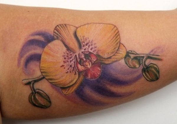 inner-arm-orchid-tattoo