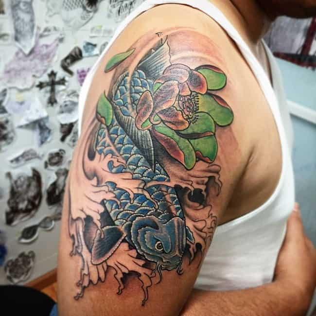 250 Beautiful Koi Fish Tattoos Meanings Ultimate Guide May 2020