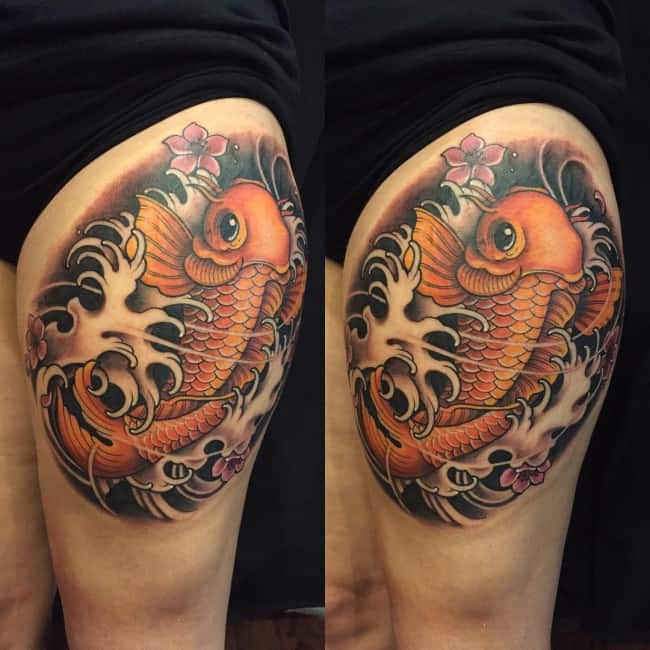250 Beautiful Koi Fish Tattoos Meanings Ultimate Guide March 2021