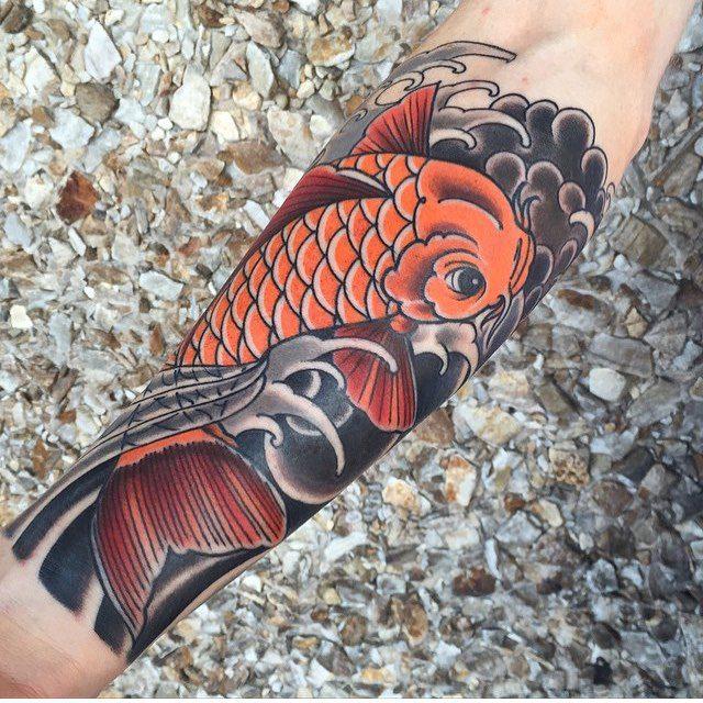 250 Best Koi Fish Tattoos Meanings Ultimate Guide June 2019