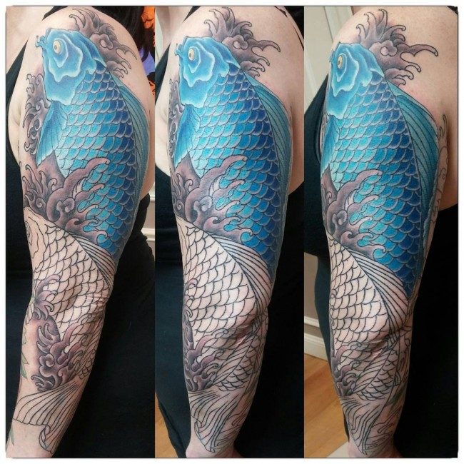250 Best Koi Fish Tattoos Meanings Ultimate Guide July 2019