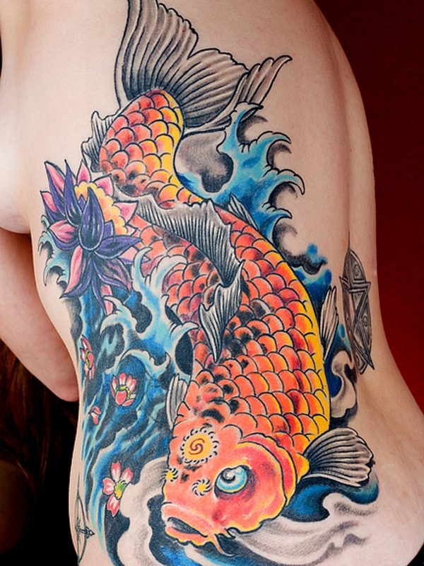 8f58d13fe 250 Best Koi Fish Tattoos Meanings (Ultimate Guide, June 2019)