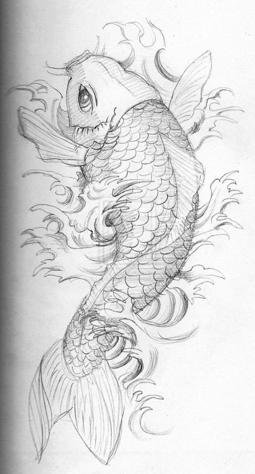 250 beautiful koi fish tattoo designs and meanings april 2018 part 6. Black Bedroom Furniture Sets. Home Design Ideas
