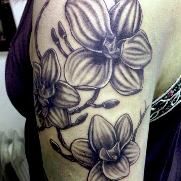 100 Best Orchid Tattoos Meanings Ultimate Guide February 2019