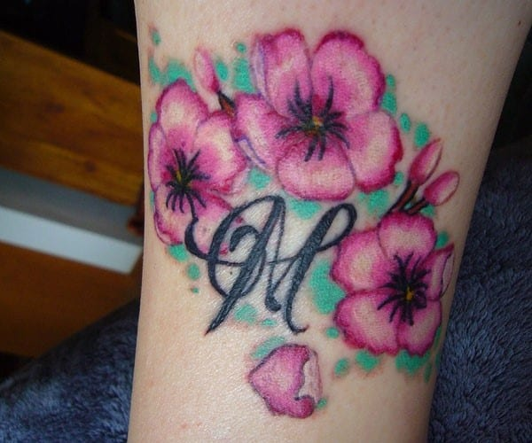leg-cherry-blossom-tattoo