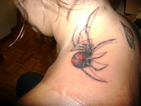neck-spider-tattoo