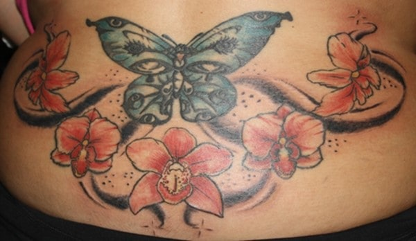 orchid-butterfly-design