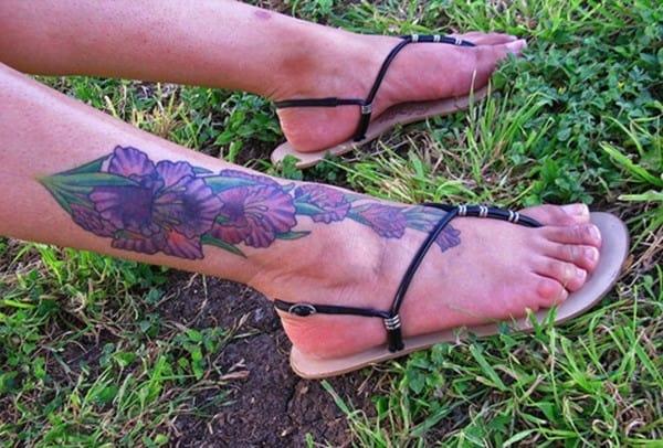 orchid-feet-tattoo