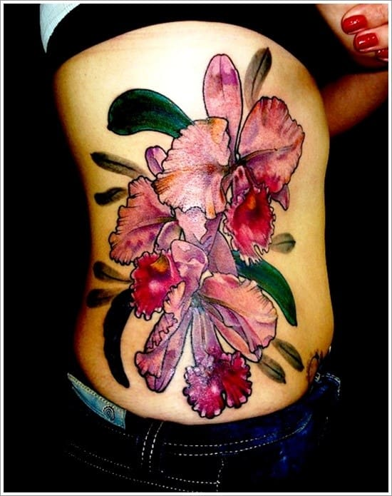 orchid-tattoo-design-24