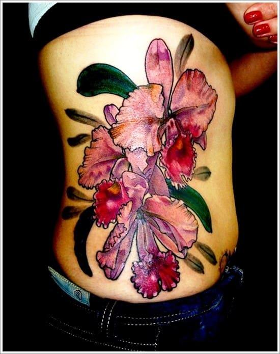 orchid-tattoo-design-24
