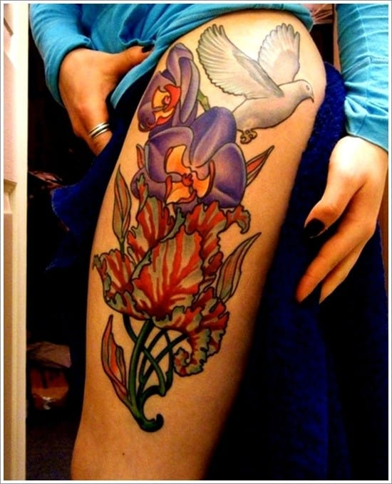 orchid-tattoo-design-5