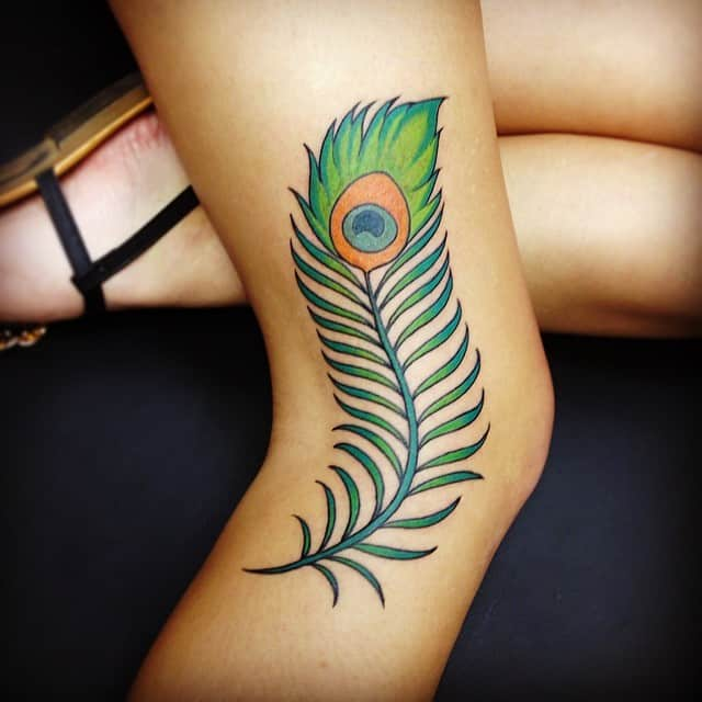 Peacock Arm Tattoo Designs