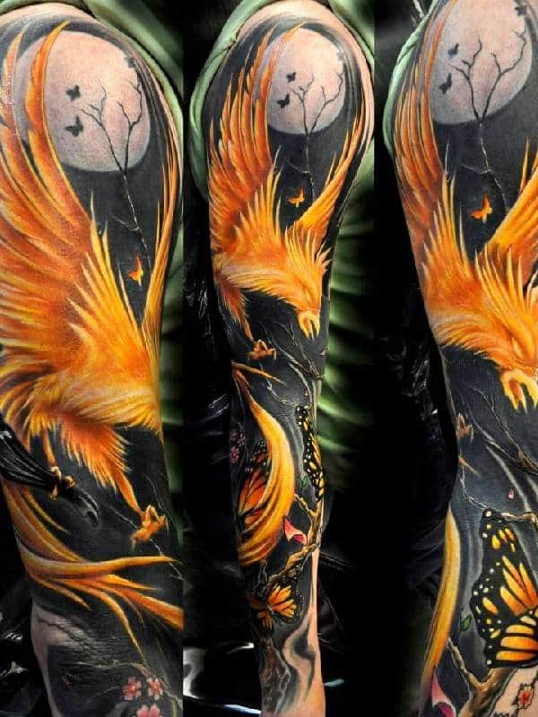 110 Meaningful Phoenix Tattoos (Ultimate Guide, September 2019)