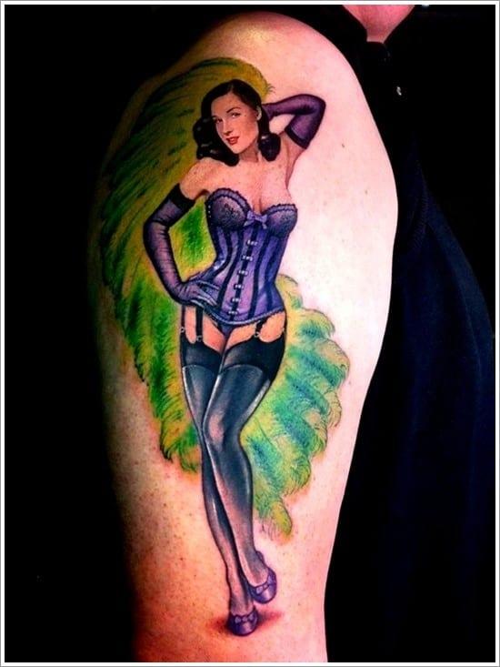 150 ultra sexy pin up girls tattoo designs  april 2018