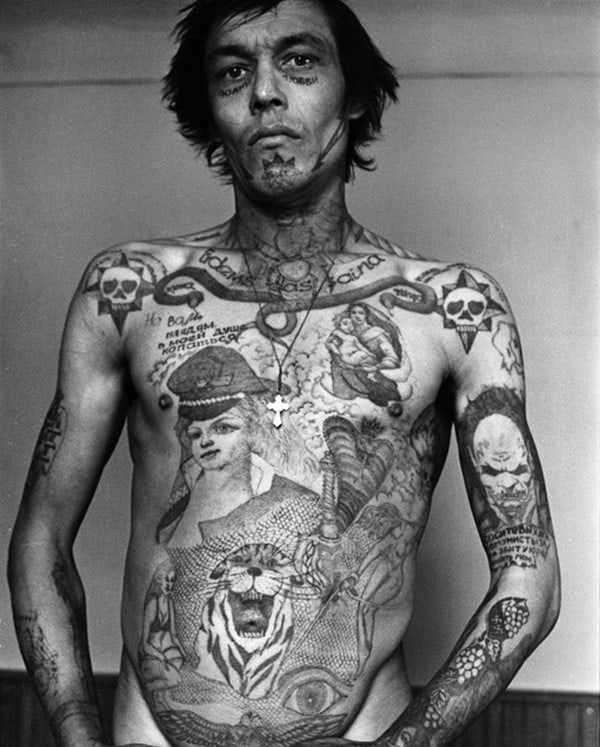 Criminal Tattoo History Amp Prison Tattoos Prison Tattoo - 550×685