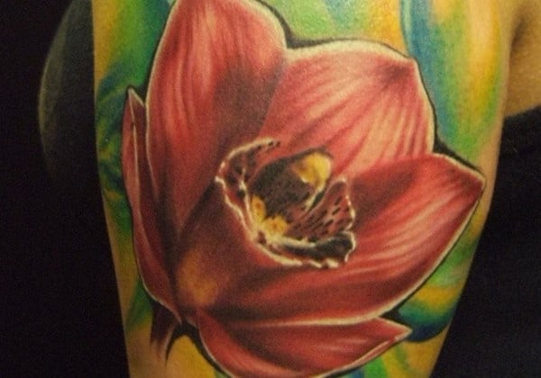 red-orchid-tattoo