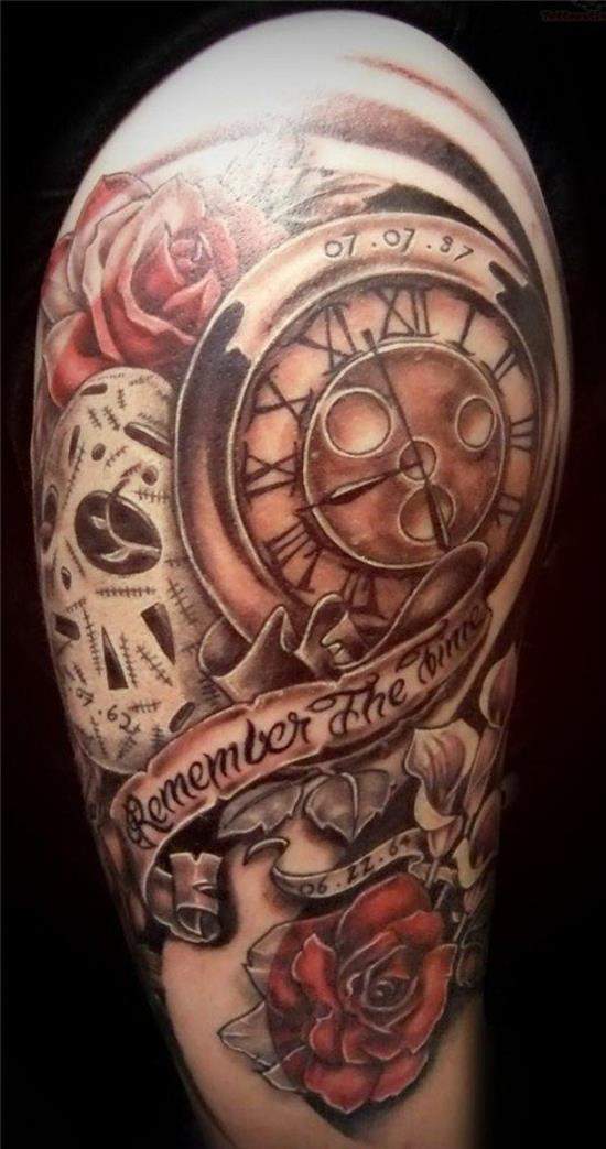 remember the time clock tattoo