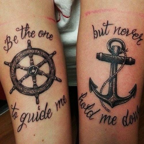 Sailing Quotes Friendship Tattoos