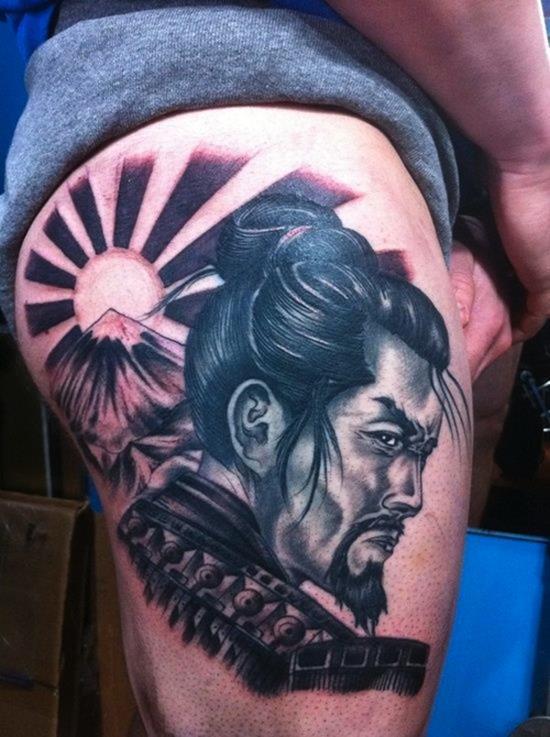samurai tattoo Japan