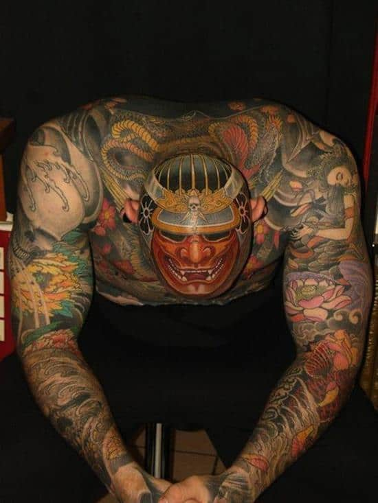 samurai-tattoo-on-head