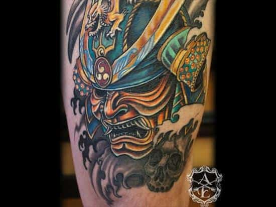 samurai-tattoo-sean-ambrose