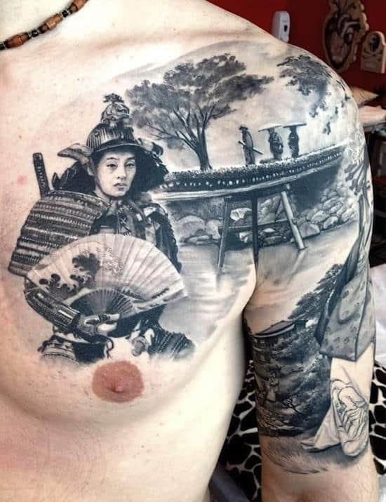 samurai-tattoo-with-fan