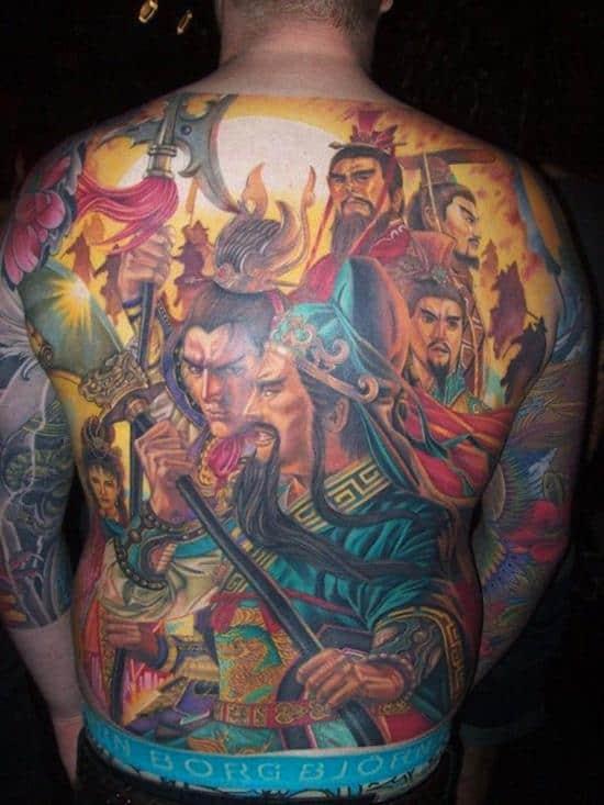 samurai-tattoos-bunch