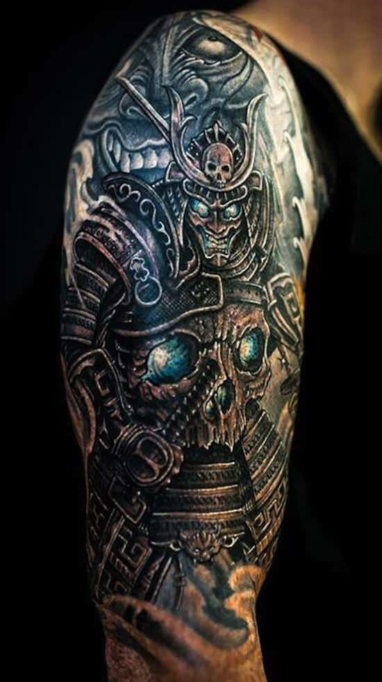 samurai-tattoos-monster