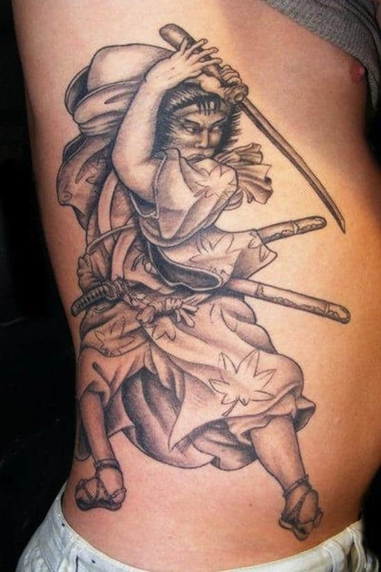 samurai-tattoos-old-fashioned