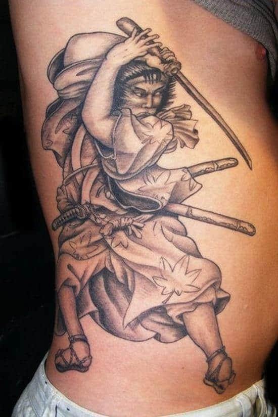 samurai-tattoos-old-fashioned