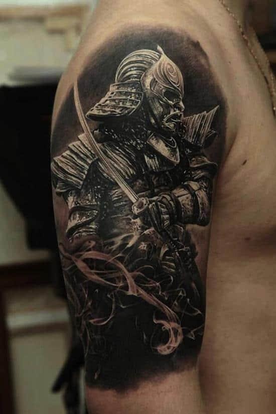 samurai-tattoos-realistic