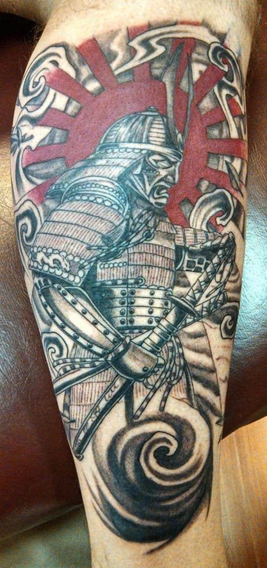 samurai-tattoos-red-sun