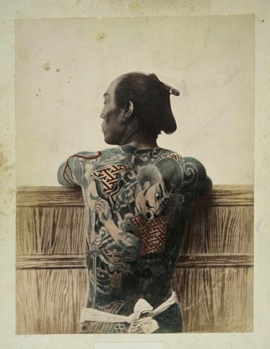 samurai-tattoos-vintage-photo