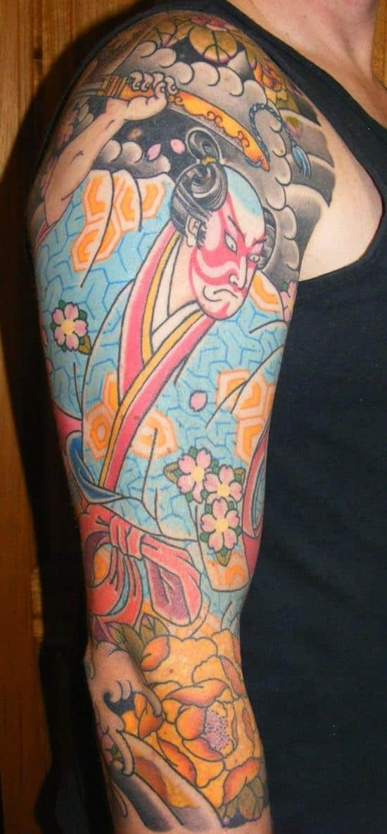 samurai-tattoos-vintage