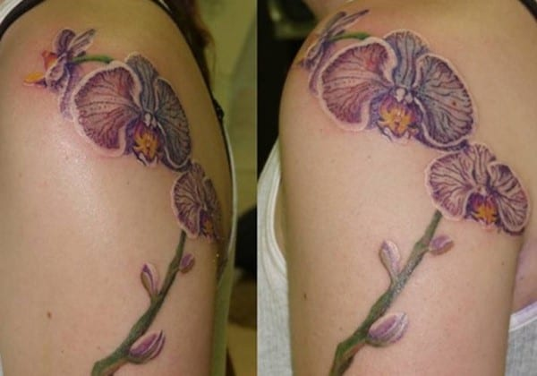 side-arm-orchid-tattoo
